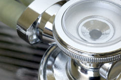 Lo stetoscopio Fotografia Stock