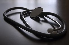 Lo stetoscopio Fotografia Stock Libera da Diritti