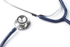 Lo stetoscopio, fondo bianco fotografia stock