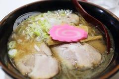 Lo stile del Giappone ramen Fotografia Stock