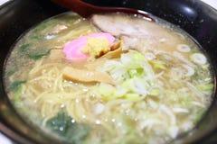 Lo stile del Giappone ramen Fotografia Stock Libera da Diritti
