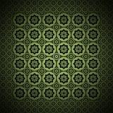 Lo stile dell'annata di verde di disegno grafico Fotografia Stock Libera da Diritti