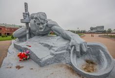 Lo stile sovietico Brest, Bielorussia fotografia stock