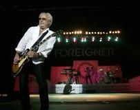 Lo straniero esegue di concerto immagini stock libere da diritti
