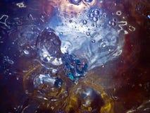 Lo straniero nelle bolle Fotografia Stock Libera da Diritti