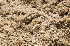 Lo strato superficiale del calcare della roccia Fotografia Stock Libera da Diritti