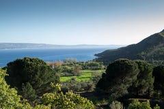 Lo stretto dei Dardanelli fotografia stock libera da diritti