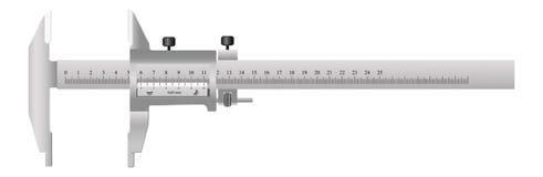 Lo strumento di misurazione Fotografia Stock