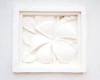 Lo stucco bianco Fotografia Stock