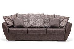 Lo studio ha sparato di un sofà moderno Fotografie Stock Libere da Diritti