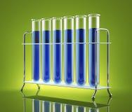 Lo studio su chimica Illustrazione di Stock