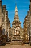 Lo Stupa alla sosta storica di Sukothai Fotografia Stock