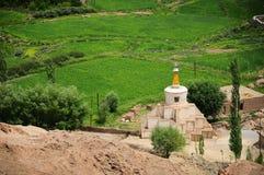 Lo stupa buddista Immagine Stock