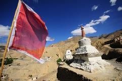 Lo stupa buddista Fotografia Stock