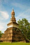 Lo Stupa della sosta storica di Sukothai Immagini Stock