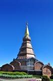 Lo Stupa Phra Mahathat Naphamethanidon Fotografie Stock Libere da Diritti