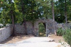 Lo SV Rovine del monastero di Petar Immagine Stock