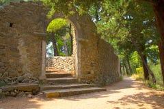 Lo SV Rovine del monastero di Petar Fotografie Stock Libere da Diritti