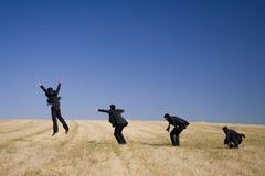 Lo sviluppo di salto Fotografia Stock