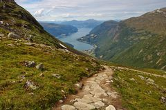 Lodalen, Lo Valley, Norway royalty free stock photography