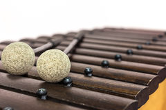 Lo xilofono ed il maglio Fotografie Stock
