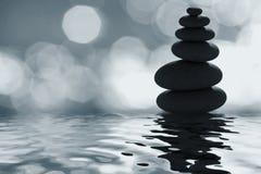 Lo zen di luce della luna Fotografia Stock Libera da Diritti