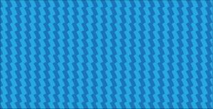 Lo zigzag blu astratto moderno semplice barra il modello Fotografie Stock