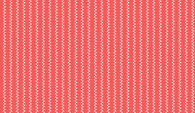 Lo zigzag rosa astratto moderno semplice allinea il modello Fotografie Stock