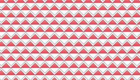 Lo zigzag rosso astratto moderno semplice piastrella il modello Fotografia Stock Libera da Diritti