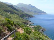 Lo zingaro reservation Sicily Royalty Free Stock Image