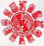 Lo zodiaco cinese Immagine Stock