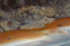 Lo zolfo di Pomezia vicino a Roma in Italia Fotografie Stock Libere da Diritti