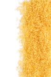 Lo zucchero bruno Immagine Stock
