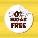 Lo zucchero libera Fotografia Stock