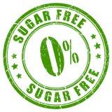 Lo zucchero libera il timbro di gomma Fotografia Stock Libera da Diritti