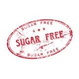 Lo zucchero libera il timbro di gomma Immagini Stock Libere da Diritti
