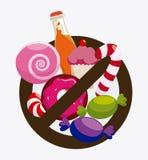 Lo zucchero libera la progettazione Fotografia Stock Libera da Diritti