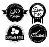 Lo zucchero libera la progettazione Immagine Stock Libera da Diritti