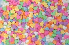 Lo zucchero spruzza i punti, la decorazione per il dolce ed il forno Fotografia Stock
