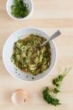 Lo zucchini frittella la pasta II Immagini Stock Libere da Diritti
