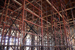 Load-Bearing Scaffolding Stock Images