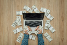 Load of cash Stock Photography