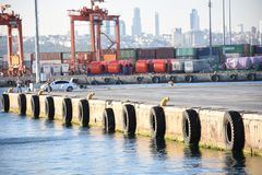 Load Pier royalty free stock images