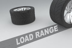 Load Range safety concept Royalty Free Stock Photo