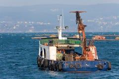 Load ship Stock Image