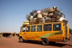 Loaded African min van Stock Photos