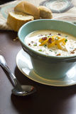 Loaded Baked Potato Soup Royalty Free Stock Images