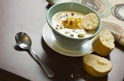Loaded Baked Potato Soup Stock Photography