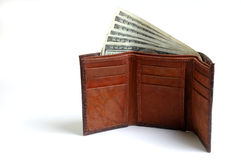 Loaded with banknotes Stock Image