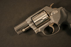 Loaded hand gun Stock Images